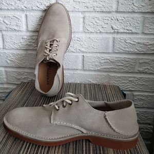 New in box genuine suede shoes